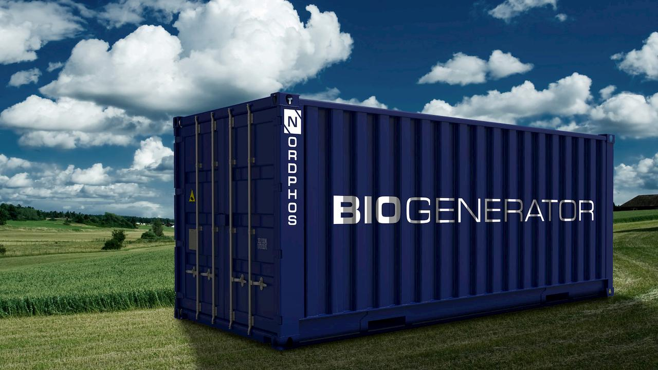 Nordpho's biogenerator for water treatment